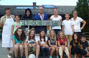 August 2014: Alpenschule English Camp is cool